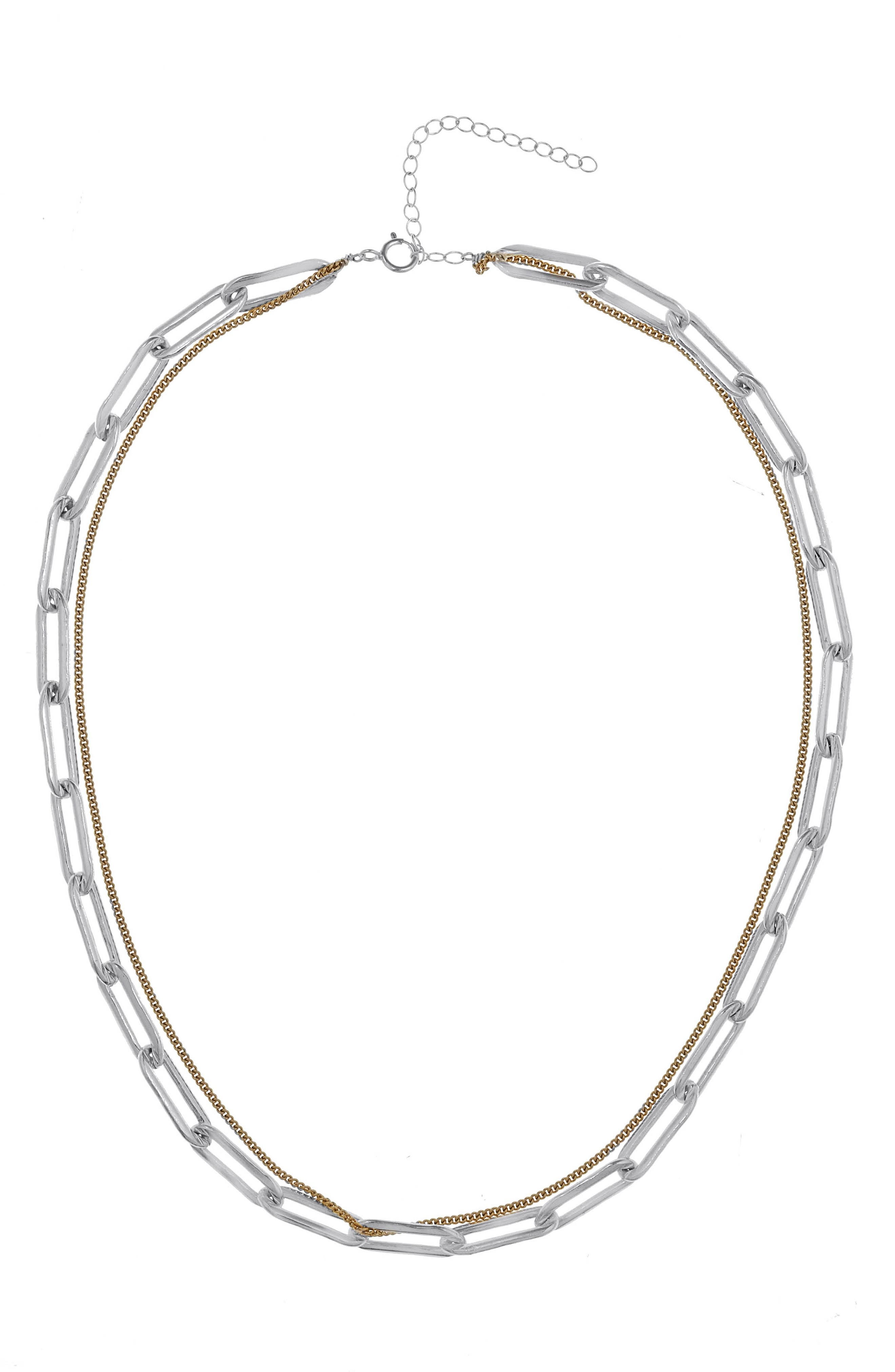 Riley Stacked Chain Necklace