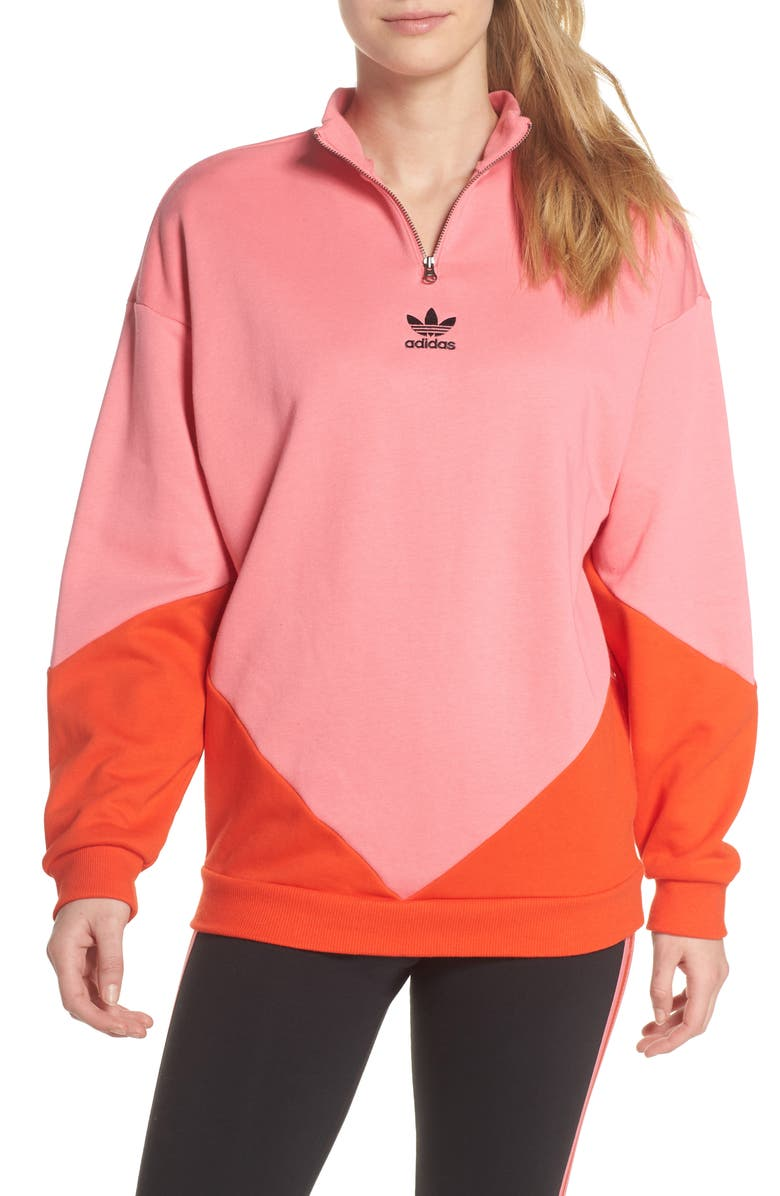 ADIDAS CLRDO Sweatshirt, Main, color, 681