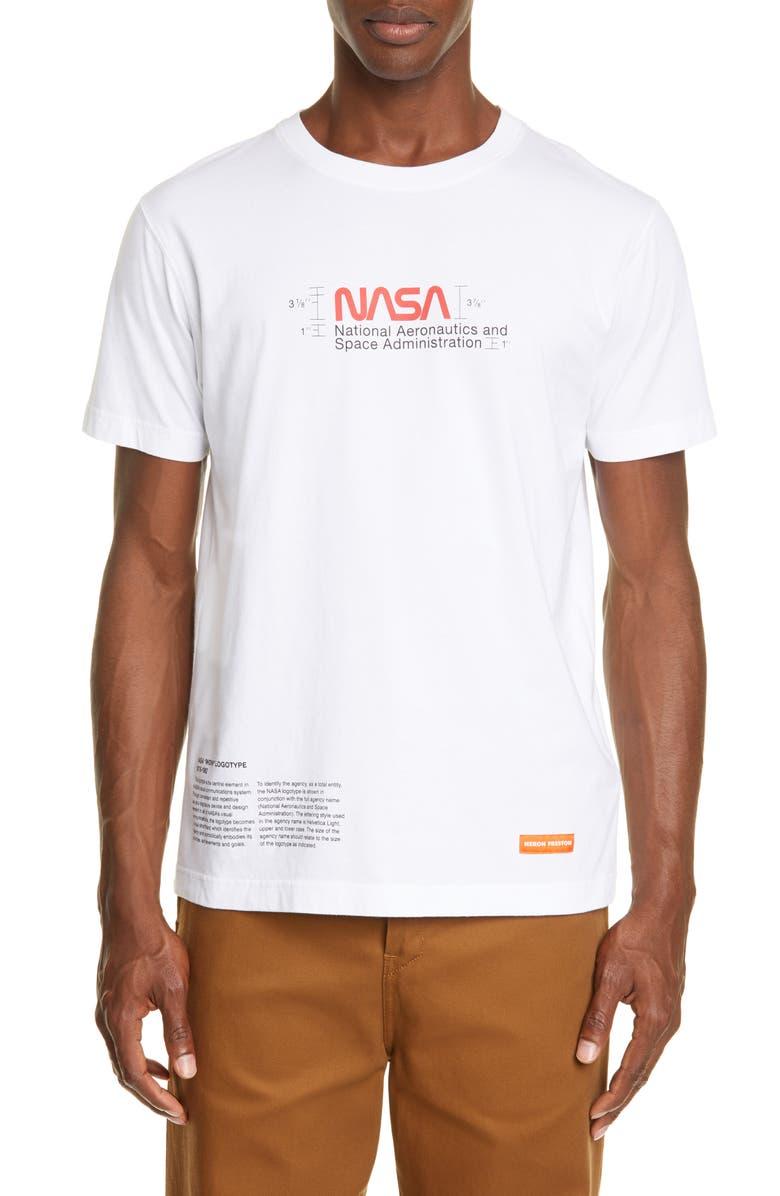 Heron Preston Nasa Logo Graphic T Shirt Nordstrom