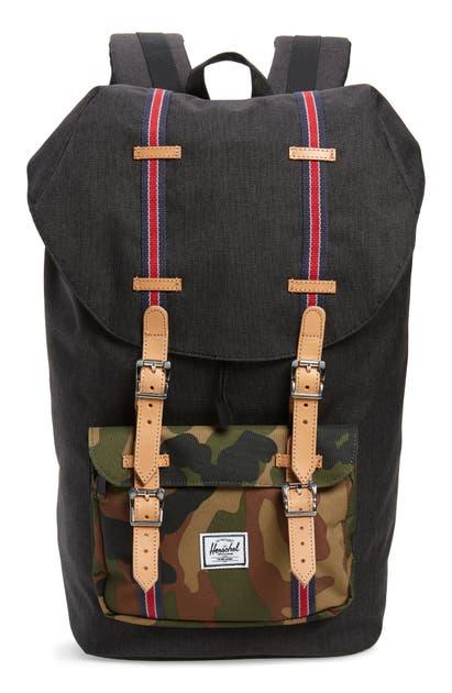 Herschel Supply Co. Backpacks LITTLE AMERICA BACKPACK - BLACK (NORDSTROM EXCLUSIVE)