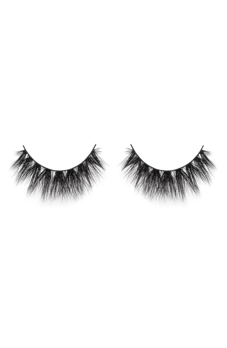 LILLY LASHES Mykonos 3D Mink False Lashes, Main, color, NO COLOR