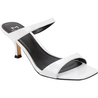 Marc Fisher Ltd Genia Slide Sandal- White