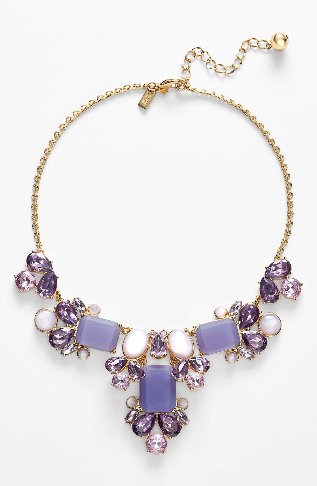 'glitzy spritz' statement necklace, Main, color, 500