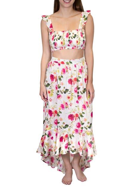 Image of Nanette Lepore Shayla High Low Ruffle Skirt