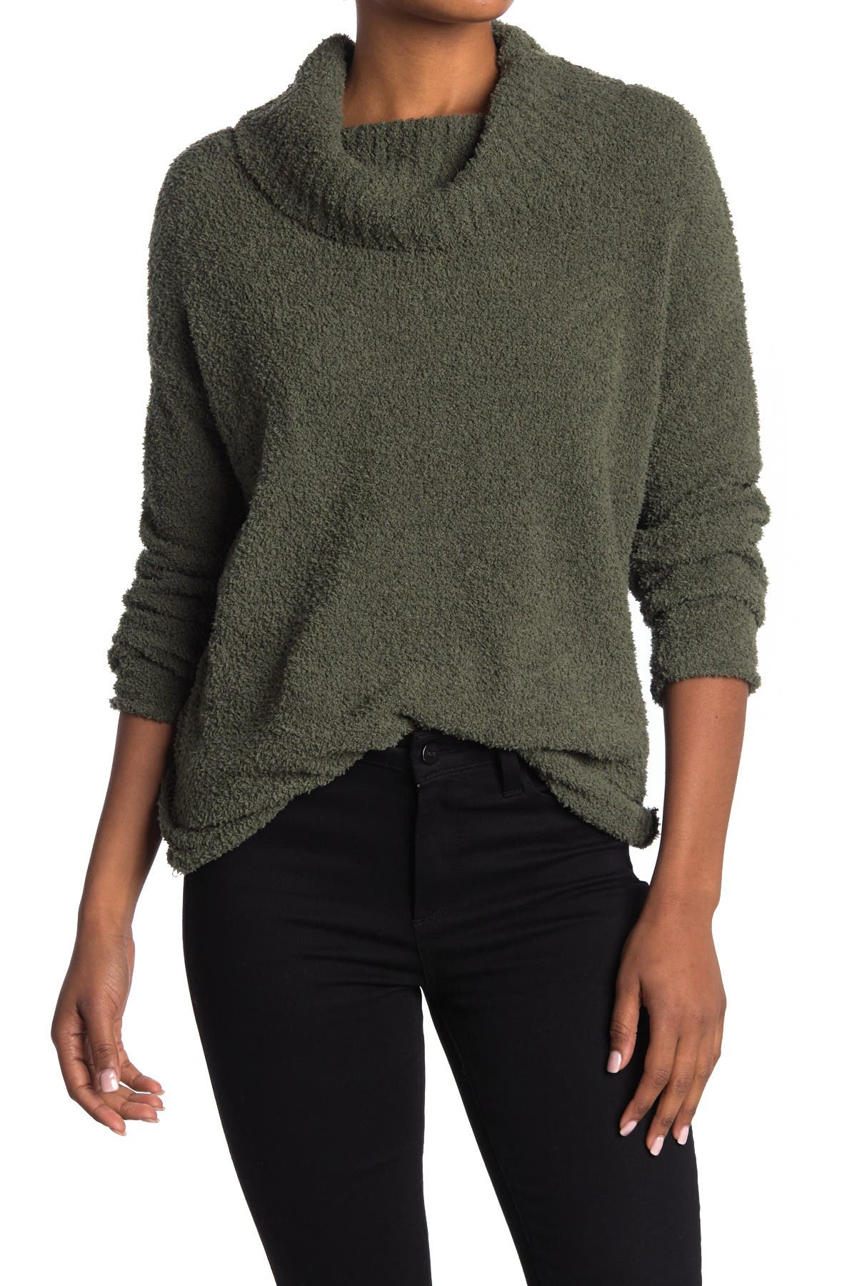 Image of Love by Design Venice Soft Mock Neck Sweater