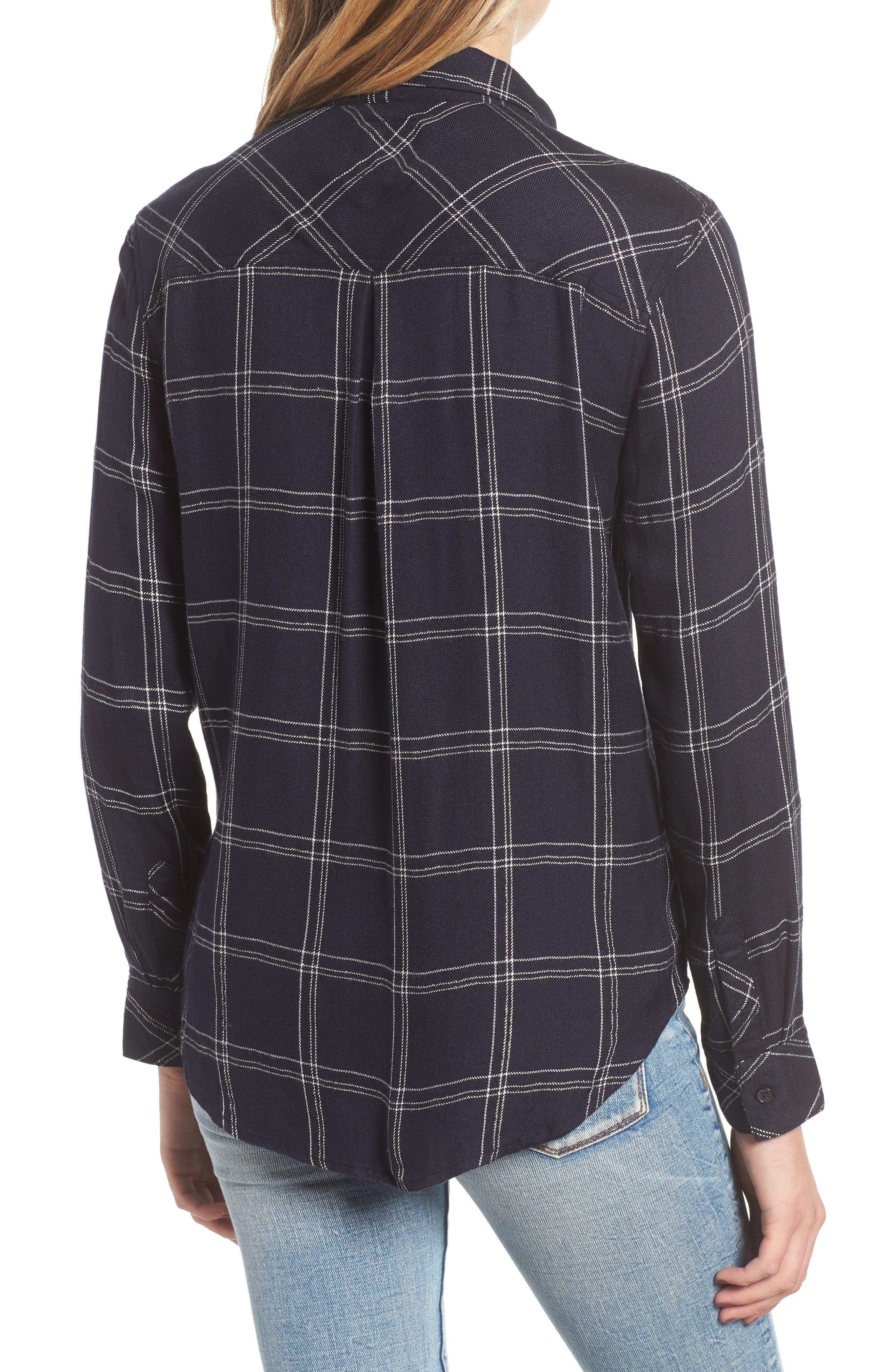 ,                             Hunter Plaid Shirt,                             Alternate thumbnail 353, color,                             414