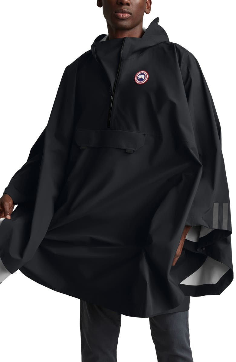 CANADA GOOSE Classic Fit Field Poncho, Main, color, 001