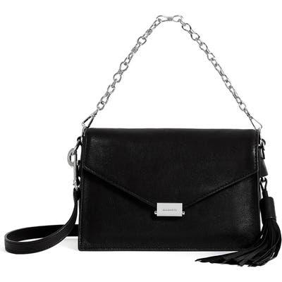 Allsaints Miki Leather Shoulder Bag - Black