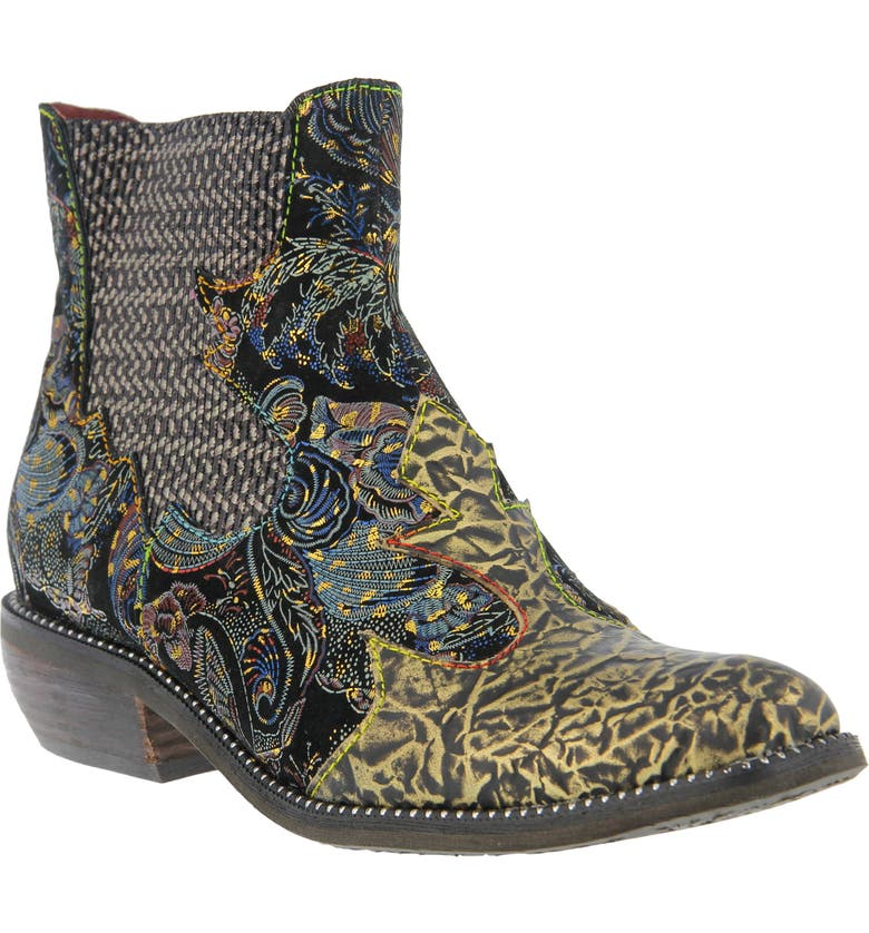 L'ARTISTE Giona Bootie, Main, color, GOLD