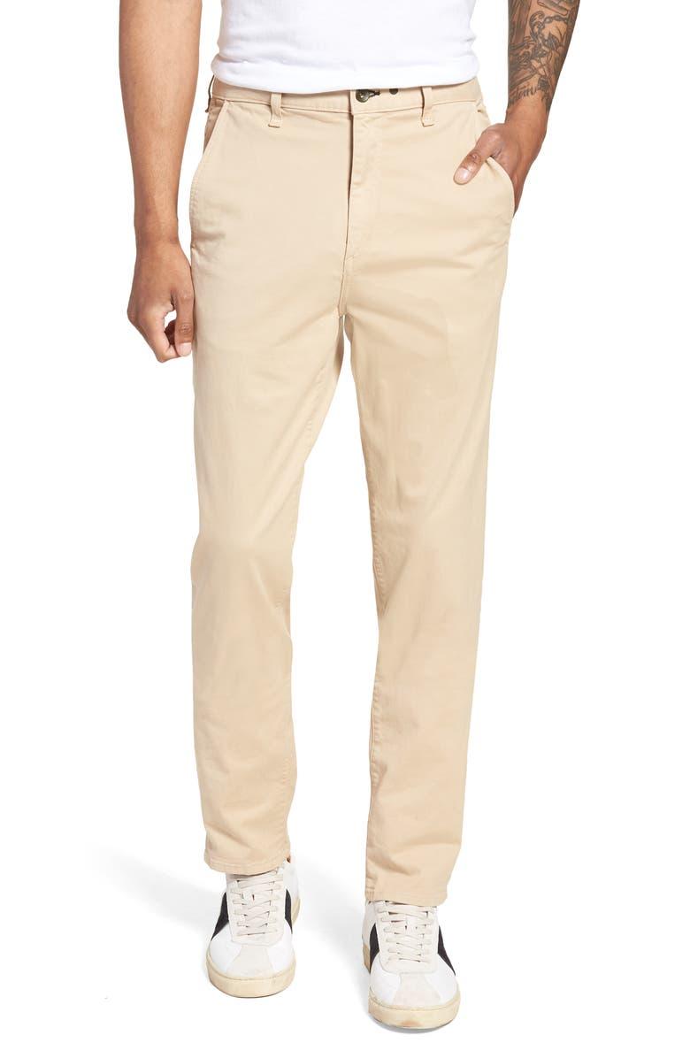 RAG & BONE Fit 3 Slim Straight Leg Classic Chino, Main, color, BEIGE
