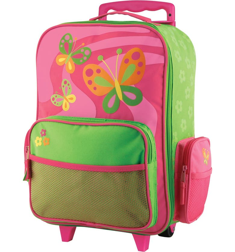 STEPHEN JOSEPH 18-Inch Rolling Suitcase, Main, color, BUTTERFLY