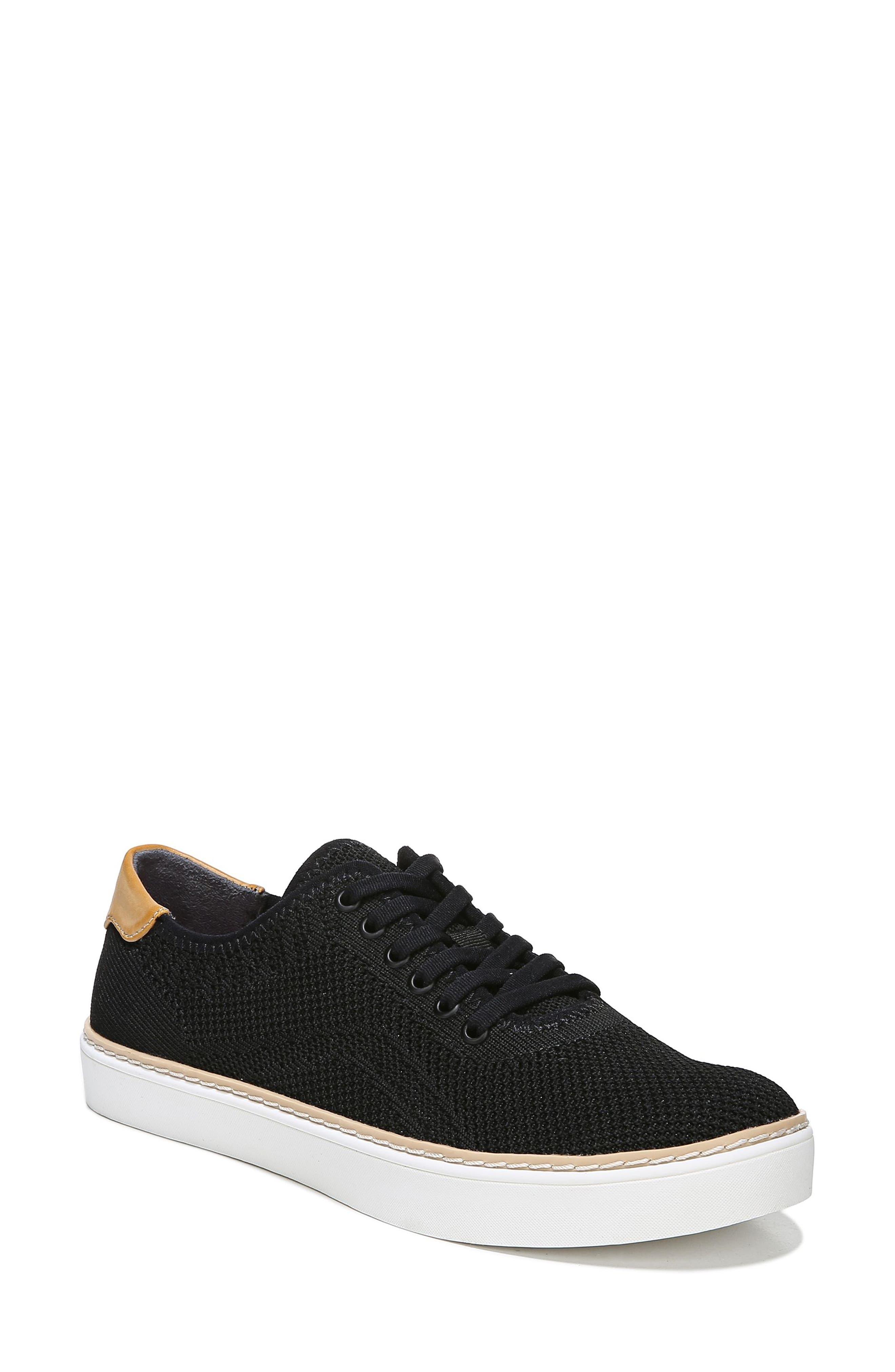 Madi Sneaker, Main, color, BLACK FABRIC