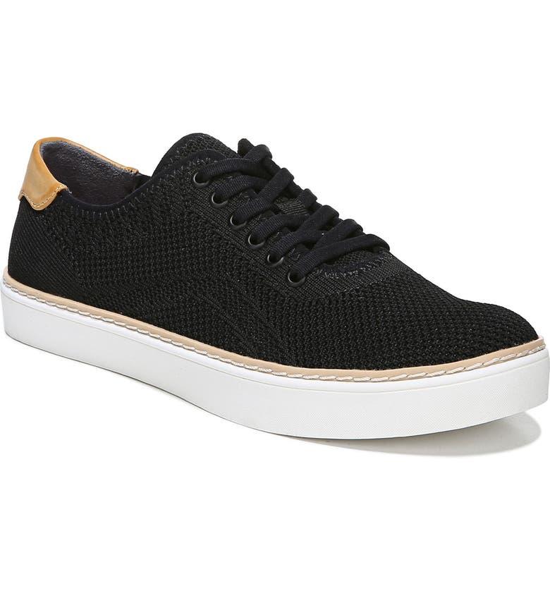 DR. SCHOLL'S Madi Sneaker, Main, color, BLACK FABRIC