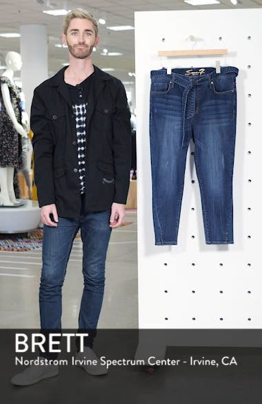 Hollywood Mid Rise Skinny Ankle Jeans, sales video thumbnail