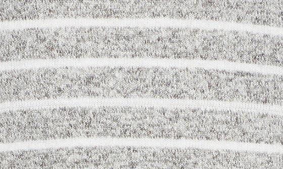 GREY/ WHITE STRIPE