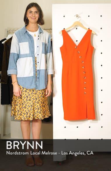 Asymmetrical Button Front Dress, sales video thumbnail