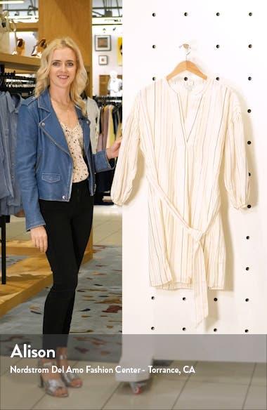 Semra Stripe Cotton Blend Dress, sales video thumbnail