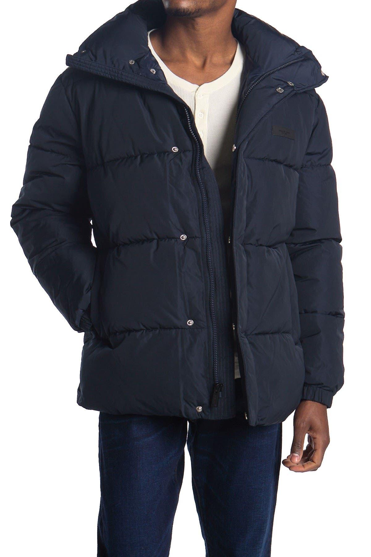 Image of Michael Kors High Denier Wide Quilt Jacket
