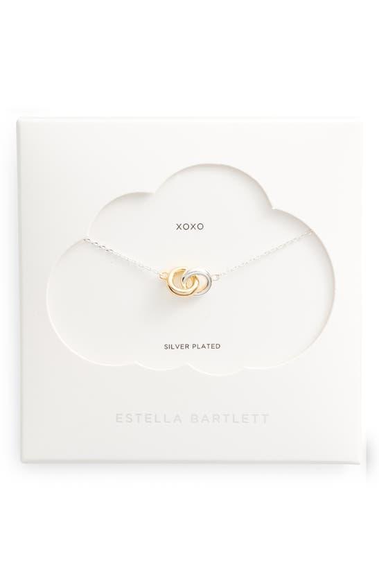Estella Bartlett Necklaces CHUNKY INTERLINKED NECKLACE