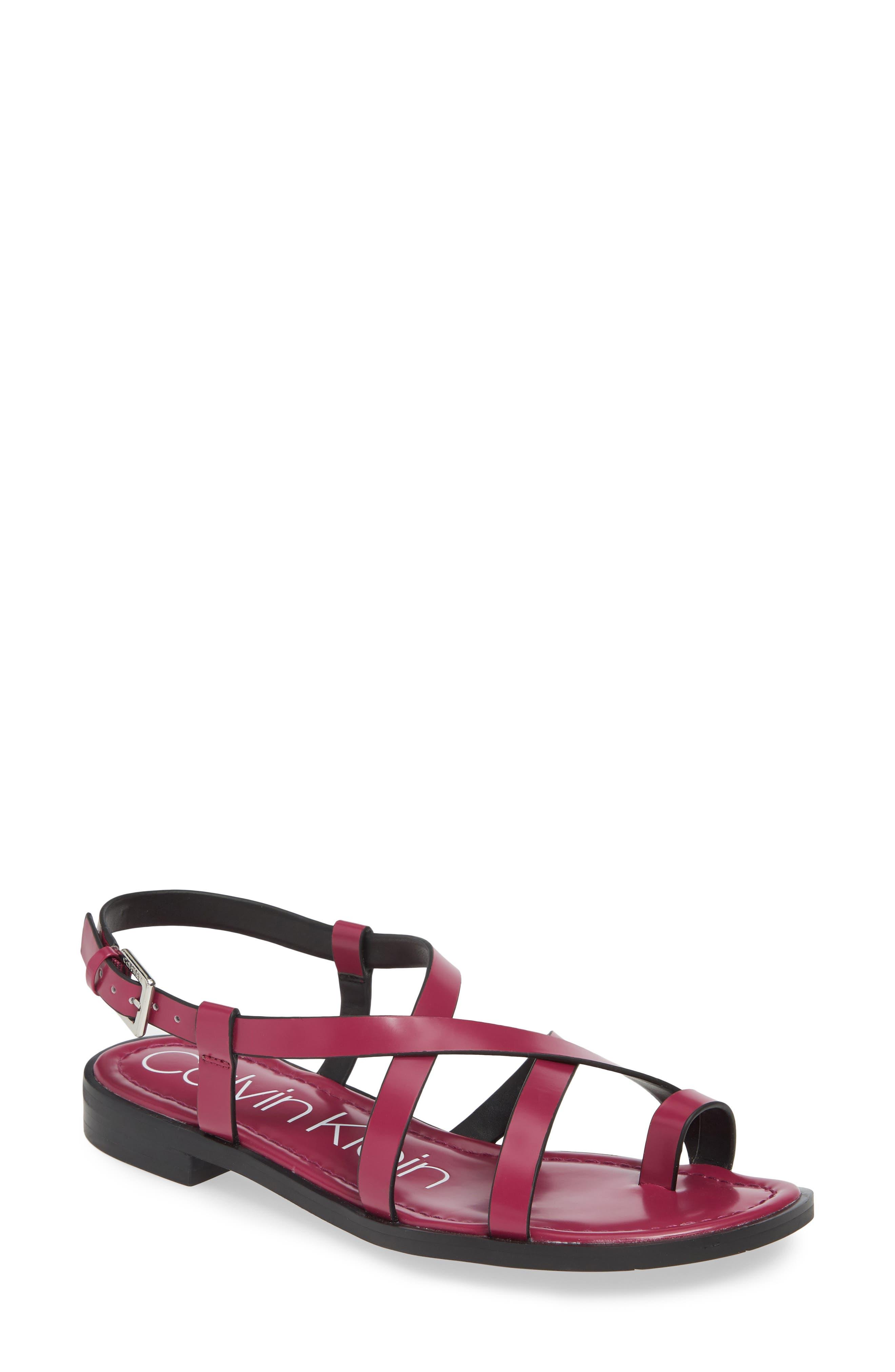 Calvin Klein Tica Sandal, Purple