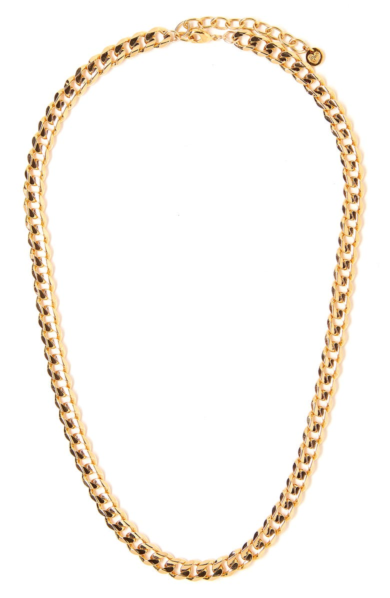 TESS + TRICIA Quinn Chain Necklace, Main, color, GOLD