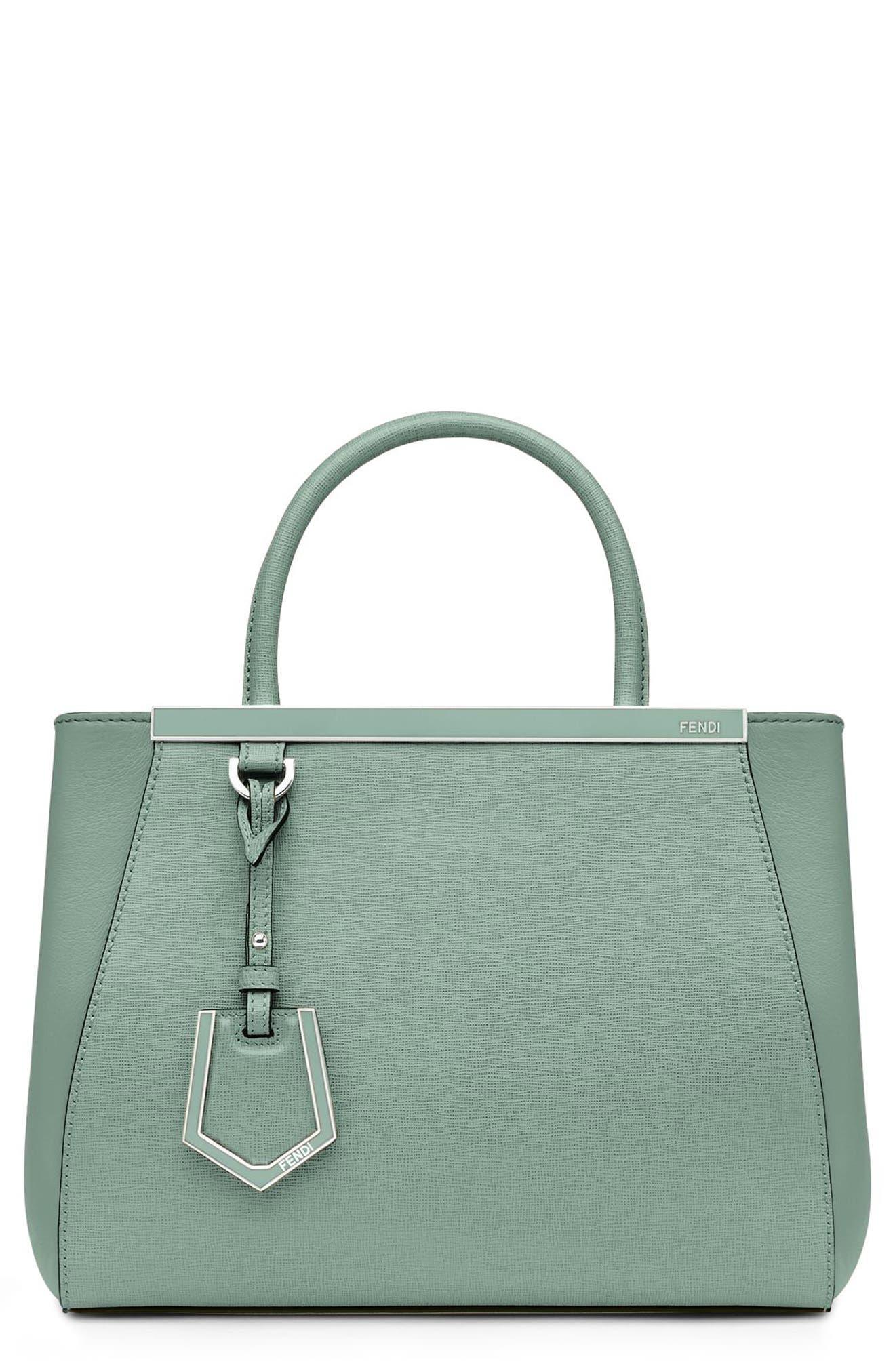'Petite 2Jours Elite' Leather Shopper, Main, color, 439