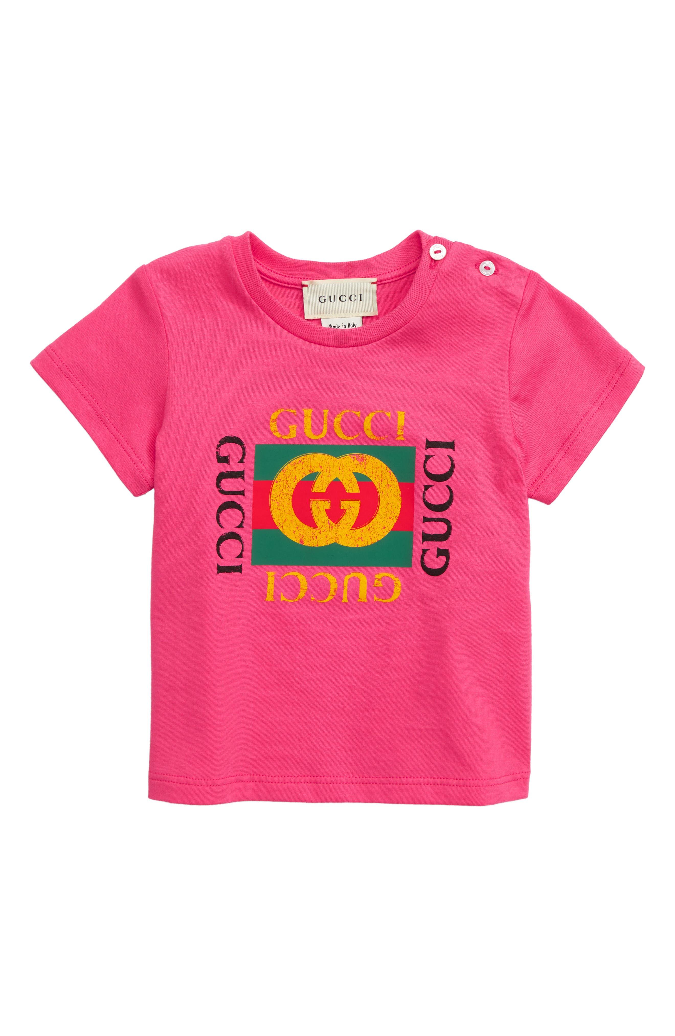 ,                             Logo T-Shirt,                             Main thumbnail 1, color,                             BABA/ GREEN/ RED