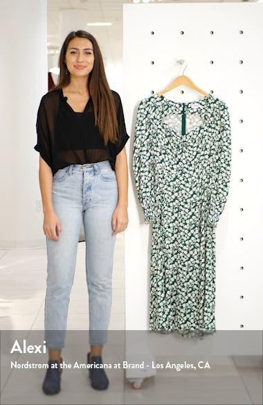 Wallflower Long Sleeve Midi Dress, sales video thumbnail