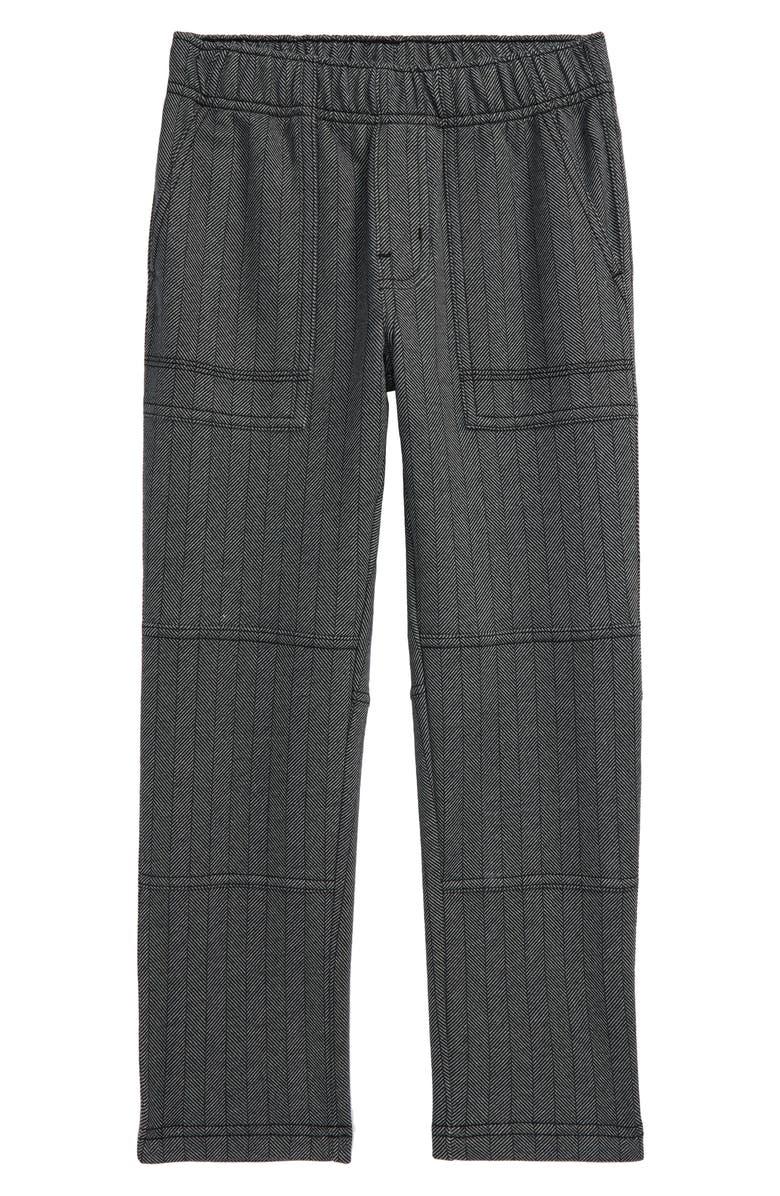 TEA COLLECTION Print Playwear Pants, Main, color, GREY ZONE
