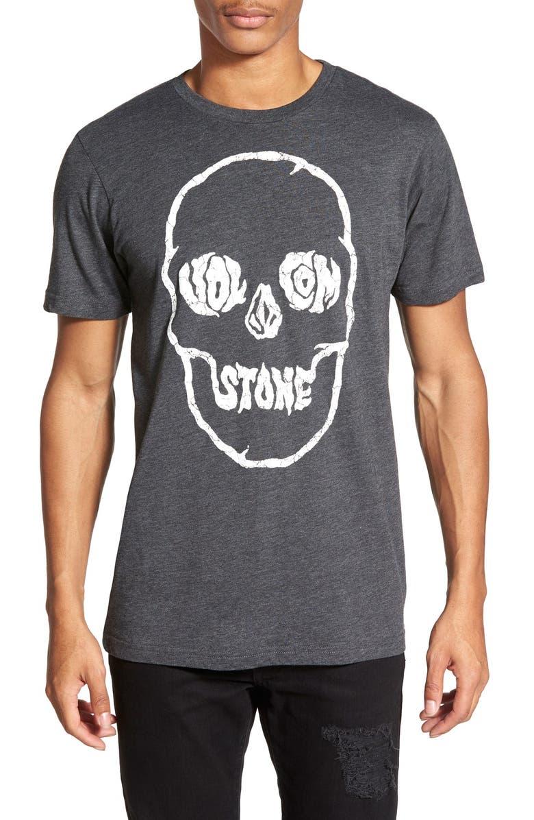 ba8512e4 Volcom 'Tuff Skull' Modern Fit Graphic Crewneck T-Shirt | Nordstrom