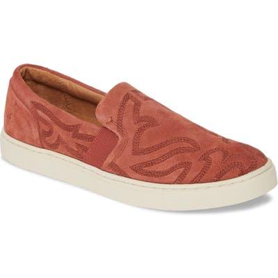 Frye Ivy Primrose Slip-On Sneaker, Red