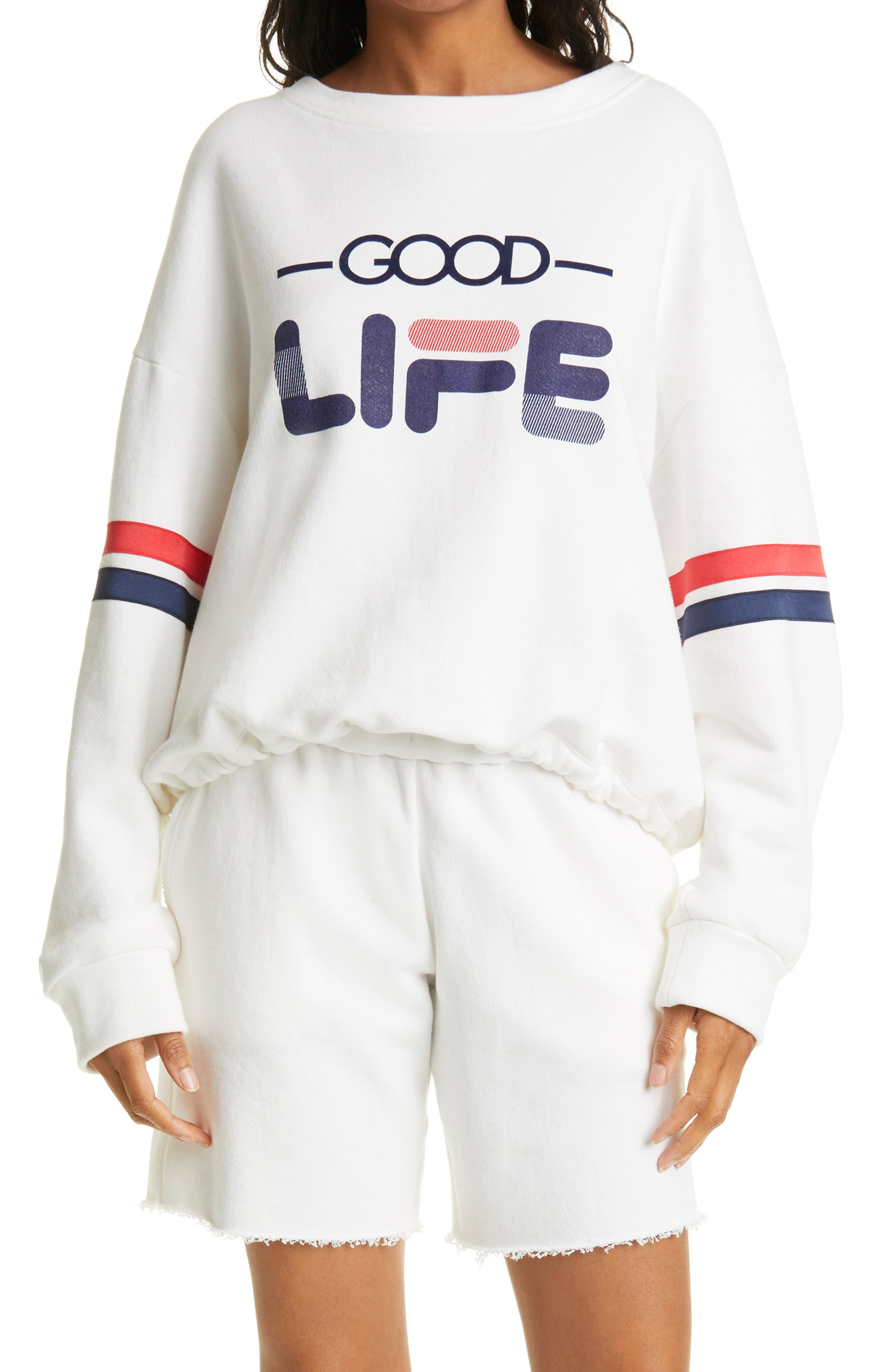 Good Life Champion Graphic Crewneck Sweatshirt