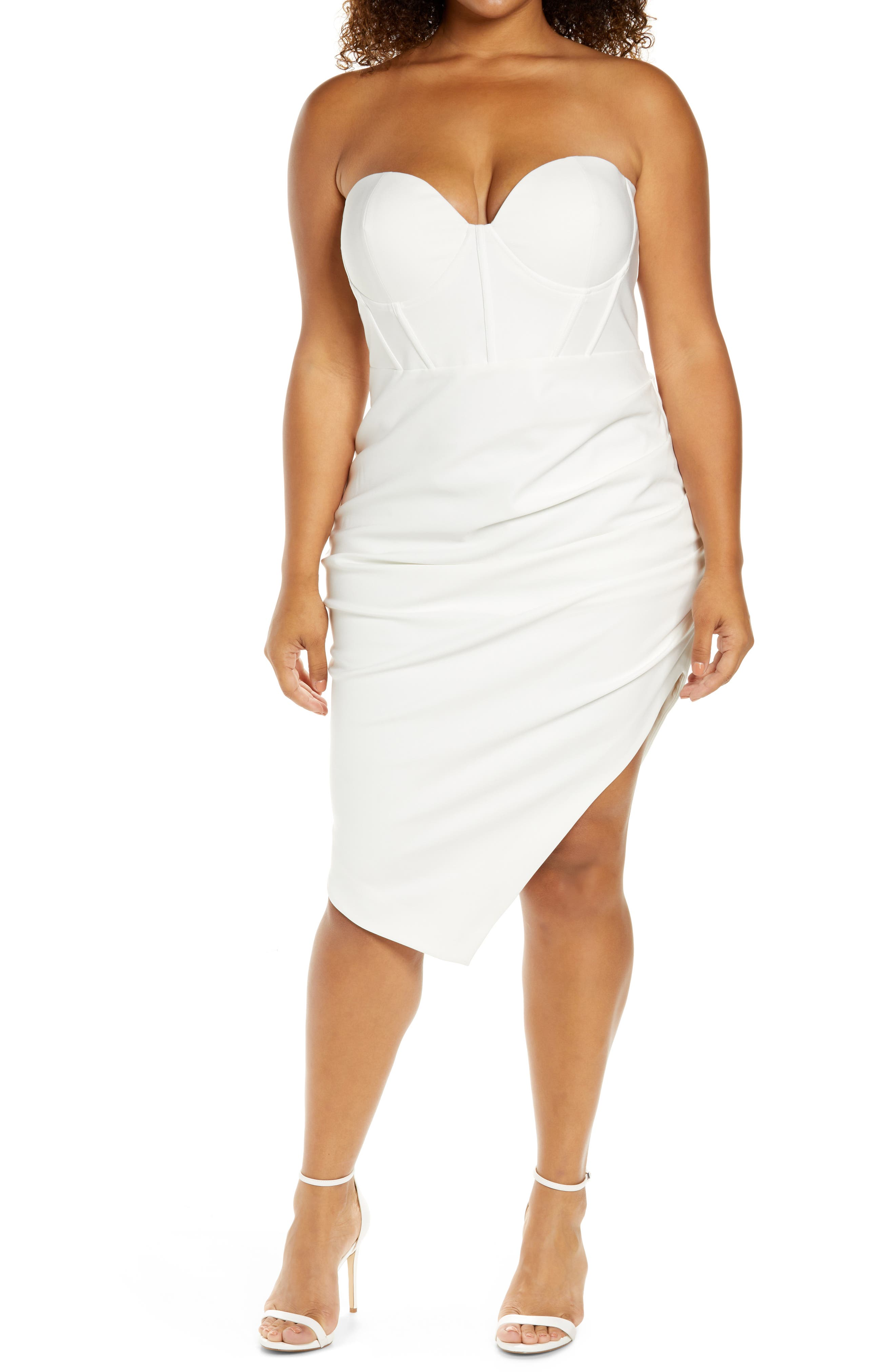 Bustier Corset Cocktail Dress