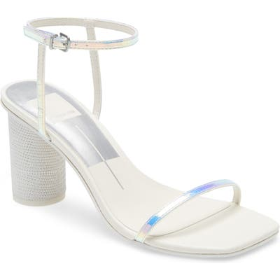 Dolce Vita Naomey Ankle Strap Sandal, Metallic