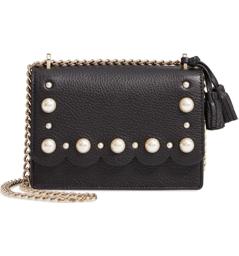 09bd62a601ea kate spade new york hayes street - hazel studded leather crossbody ...
