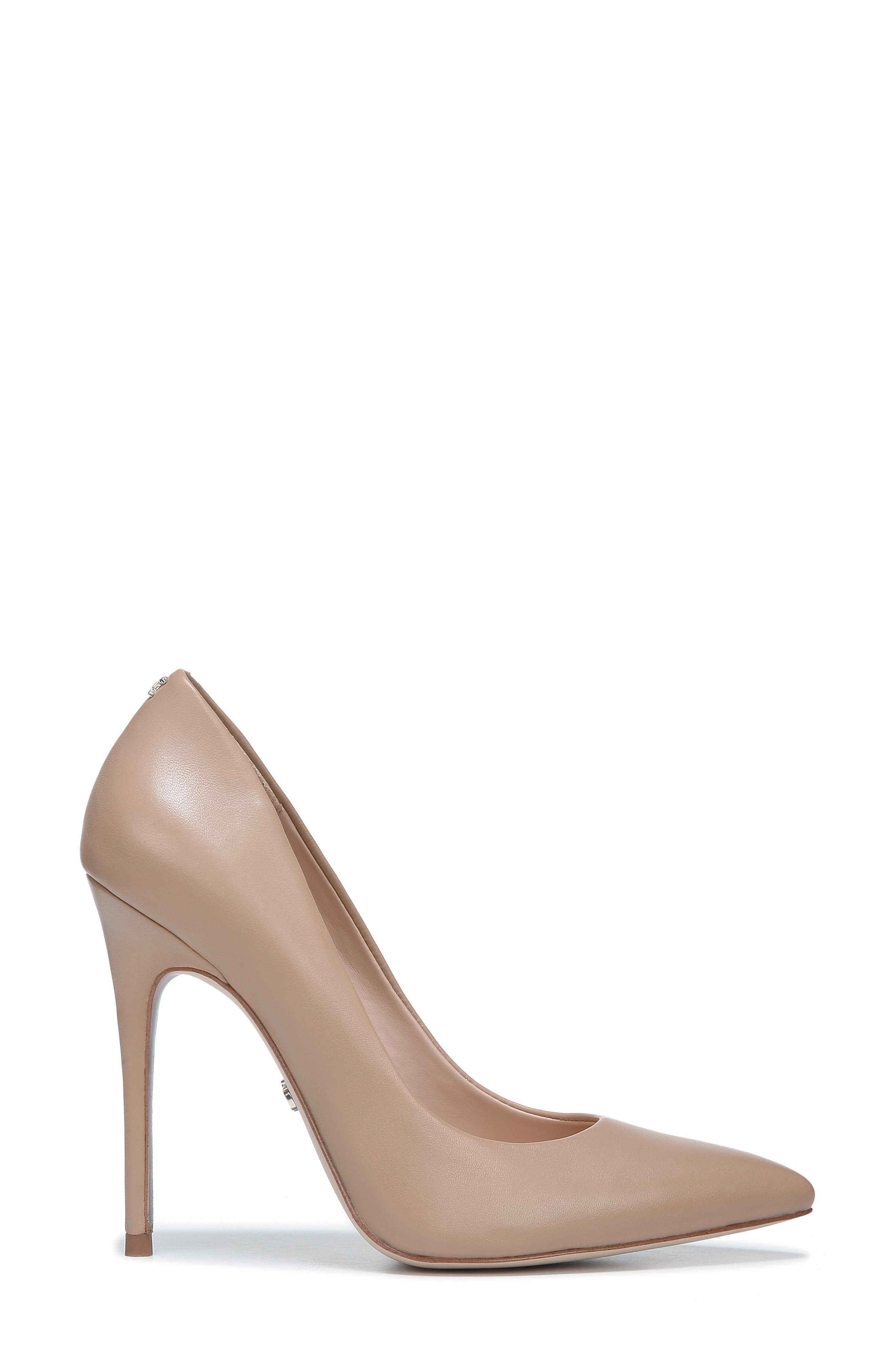 ,                             Danna Pointy Toe Pump,                             Alternate thumbnail 2, color,                             CLASSIC NUDE LEATHER