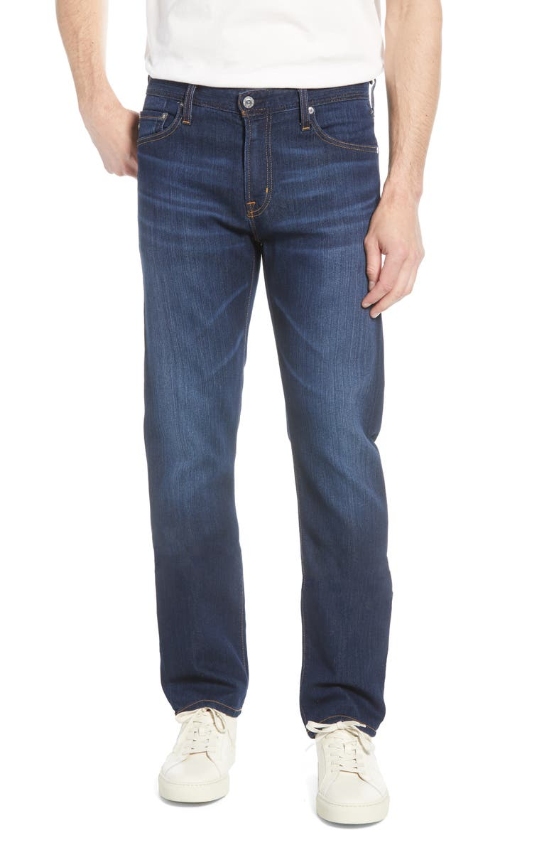 AG Protégé Straight Leg Jeans, Main, color, QUEST