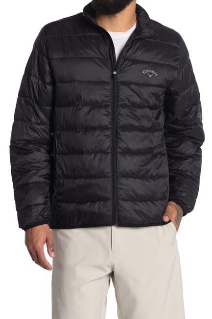 Image of CALLAWAY GOLF Smu Long Sleeve Faux Down Puffer Jacket