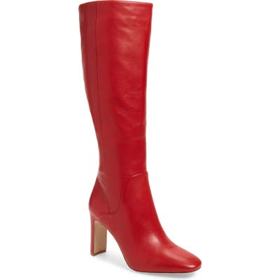 Louise Et Cie Waldron Knee High Boot- Red