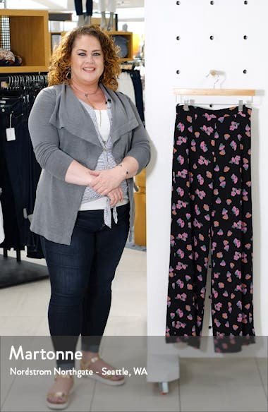 Floral Wide Leg Pants, sales video thumbnail