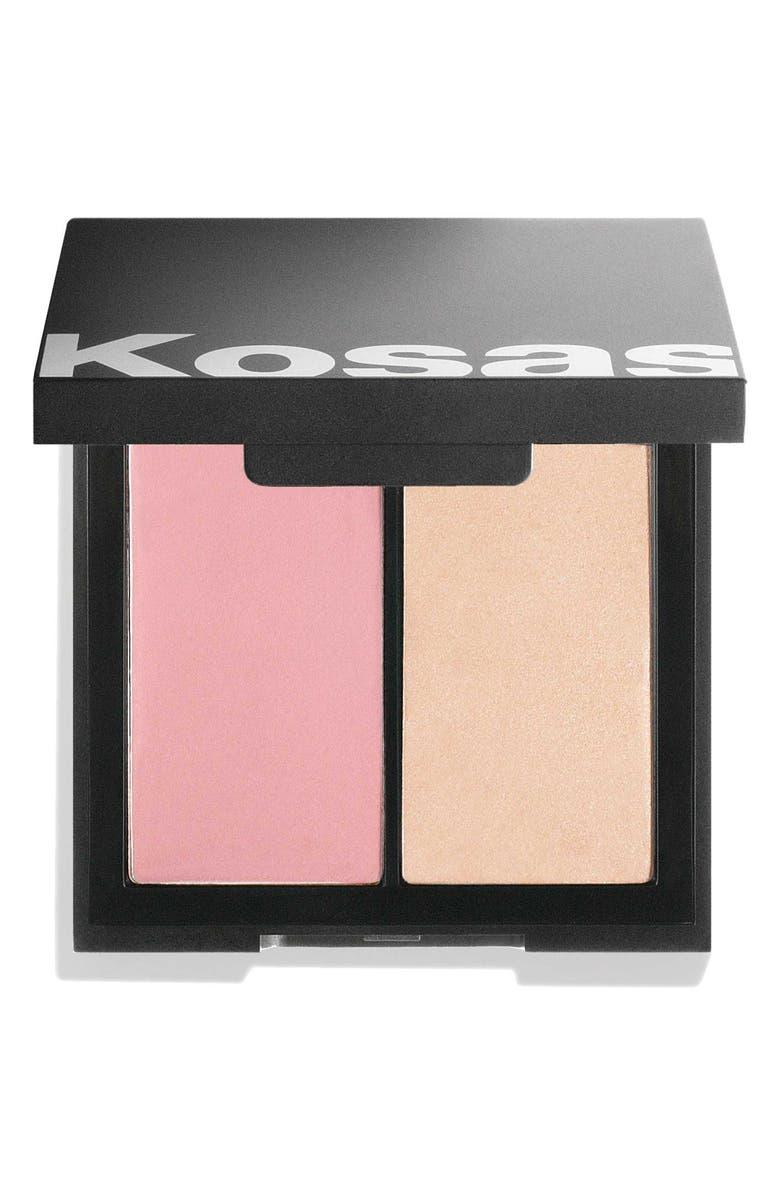 KOSAS Color & Light Cream Blush & Highlighter, Main, color, 8TH MUSE