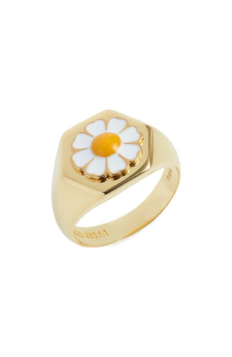 WILHELMINA GARCIA Flower Ring, Main, color, 100