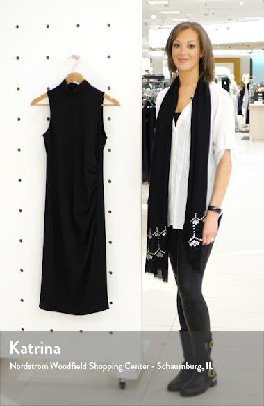 Mock Neck Sheath Dress, sales video thumbnail