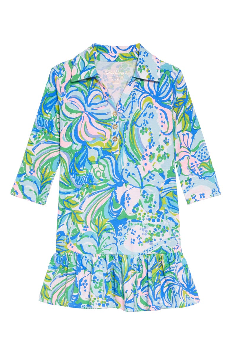 LILLY PULITZER<SUP>®</SUP> Amelia Polo Dress, Main, color, 300