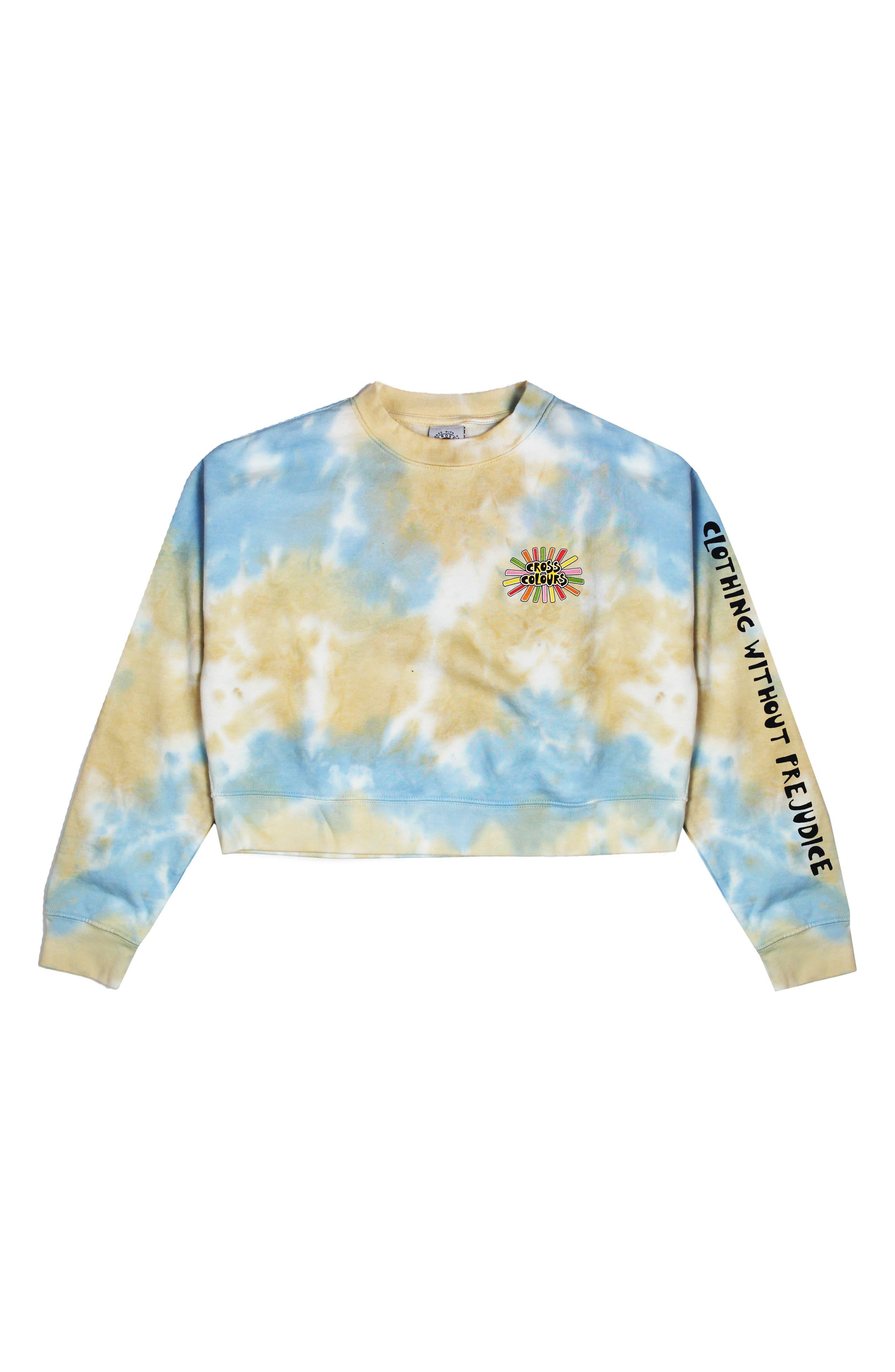 Sunshine Logo Crop Sweatshirt