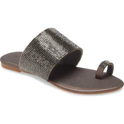 Jeffrey Campbell Jemma Slide Sandal, Grey