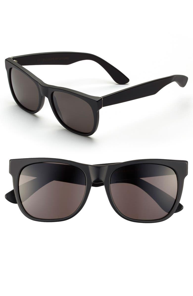 SUPER BY RETROSUPERFUTURE<SUP>®</SUP> RETROSUPERFUTURE<sup>®</sup> 55mm 'Basic' Sunglasses, Main, color, 001