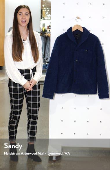 Slim Fit Fleece Shirt Jacket, sales video thumbnail