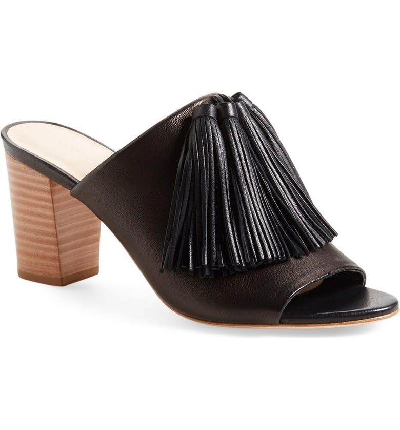 LOEFFLER RANDALL Clo Tassel Mule Sandal, Main, color, 004