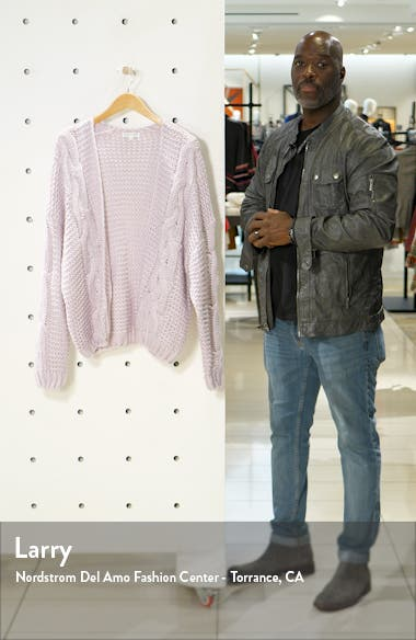 Cable Cardigan, sales video thumbnail